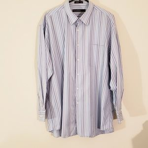 Perry Ellis Portfolio Dress Button-down Shirt XXL